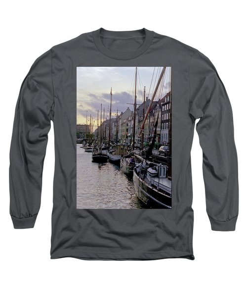 Copenhagen Quay Long Sleeve T-Shirt