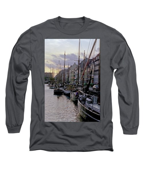 Copenhagen Quay Long Sleeve T-Shirt
