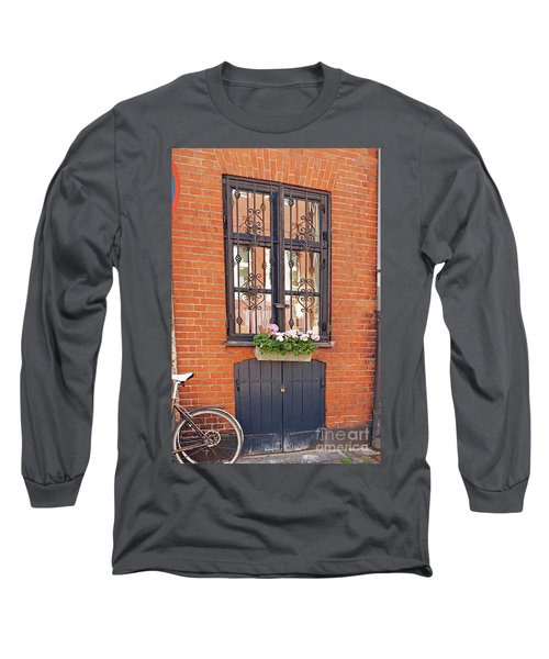 Copenhagen Window Long Sleeve T-Shirt by Eva Kaufman