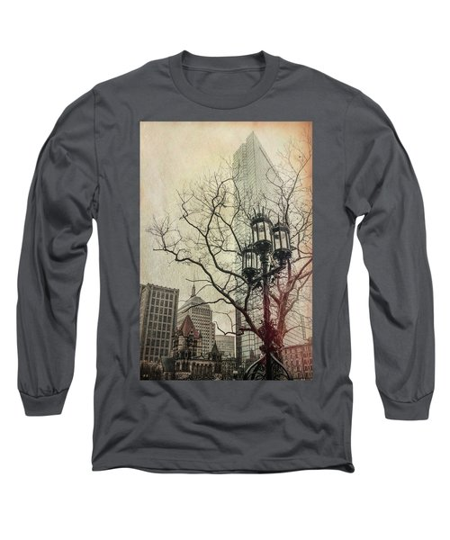 Long Sleeve T-Shirt featuring the photograph Copley Square - Boston by Joann Vitali