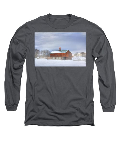 Long Sleeve T-Shirt featuring the digital art Copper Cupola by Sharon Batdorf