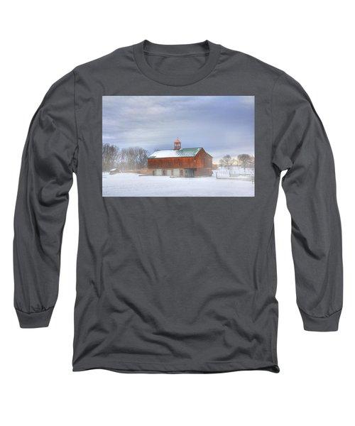 Copper Cupola Long Sleeve T-Shirt by Sharon Batdorf