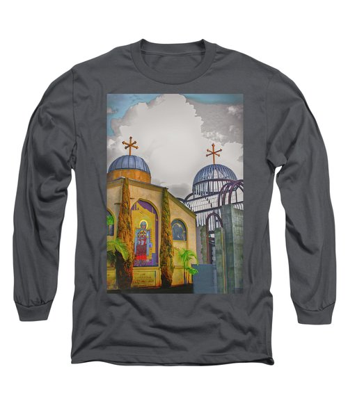 Coptic Church Rebirth Long Sleeve T-Shirt