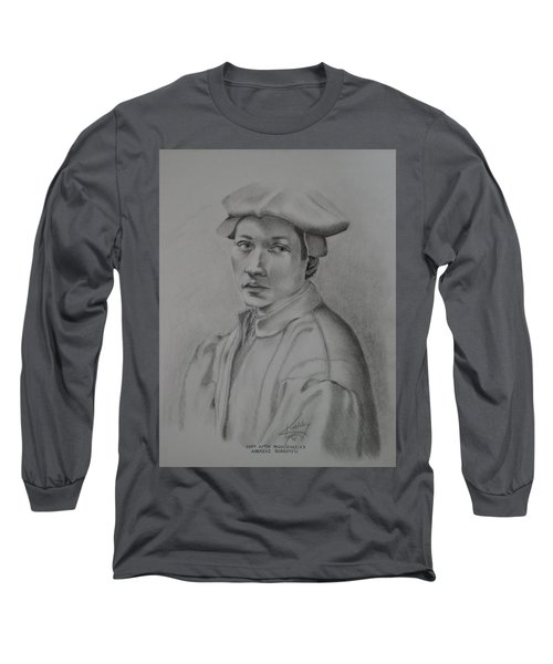 Copy After Michelangelo's Andreas Quaratesi Long Sleeve T-Shirt