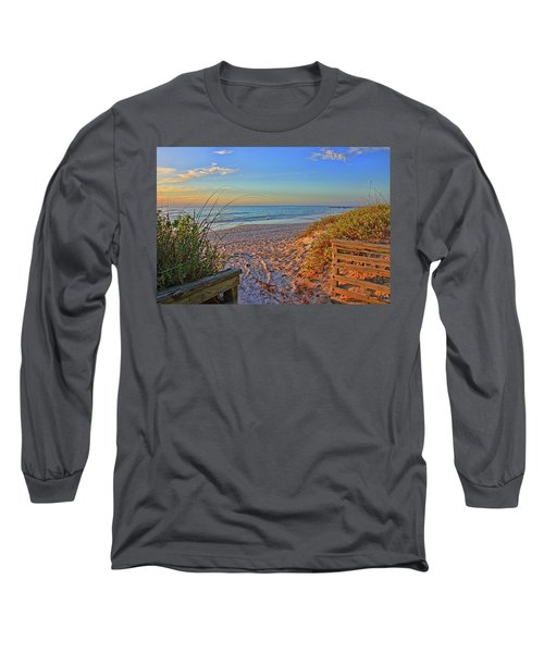 Coquina Beach By H H Photography Of Florida  Long Sleeve T-Shirt