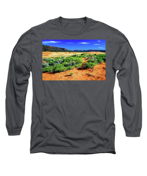 Coral Pink Sand Dunes Long Sleeve T-Shirt