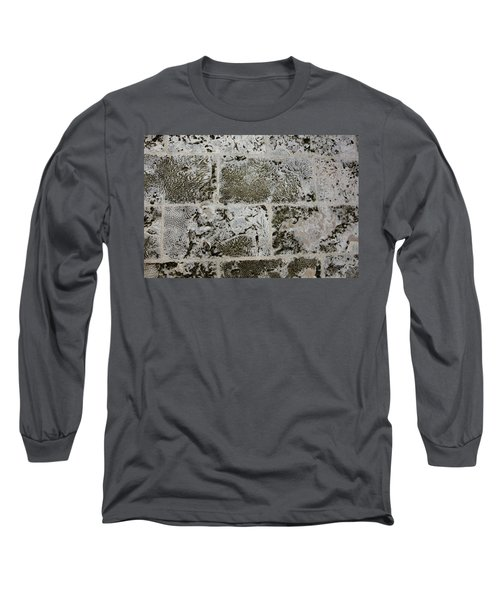 Coral Wall 205 Long Sleeve T-Shirt by Michael Fryd
