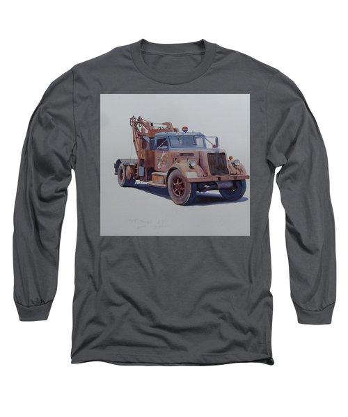 Corbyn Wrecker. Long Sleeve T-Shirt by Mike  Jeffries