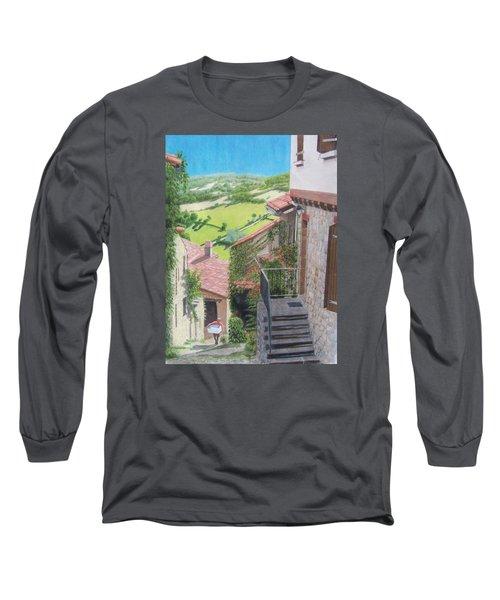 Cordes Sur Ciel 2 Long Sleeve T-Shirt by Constance DRESCHER