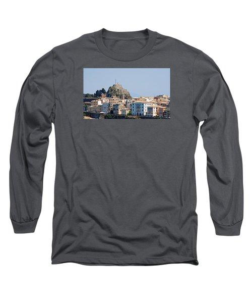 Corfu Old Fortress Long Sleeve T-Shirt