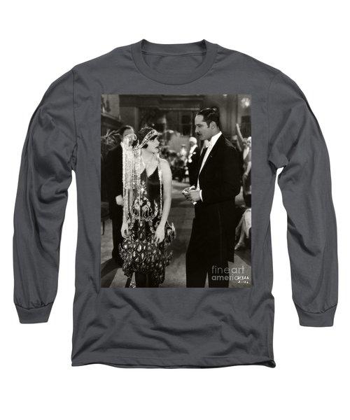 Corinne Griffith Norman Kerry Mademoiselle Modiste 1926 Long Sleeve T-Shirt