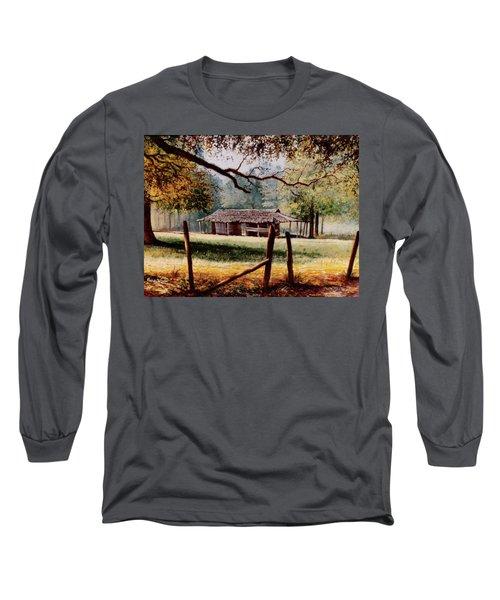 Corn Crib Long Sleeve T-Shirt
