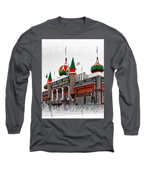 Corn Palace South Dakota Long Sleeve T-Shirt