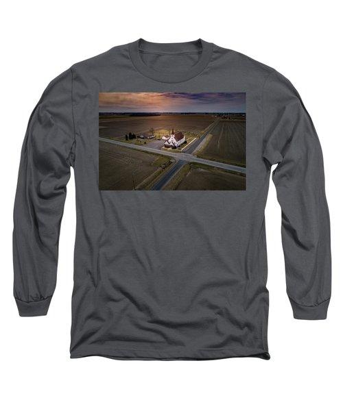 Corner Church Long Sleeve T-Shirt