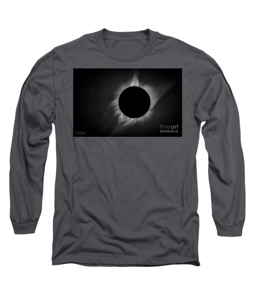 Corona During Total Solar Eclipse Long Sleeve T-Shirt