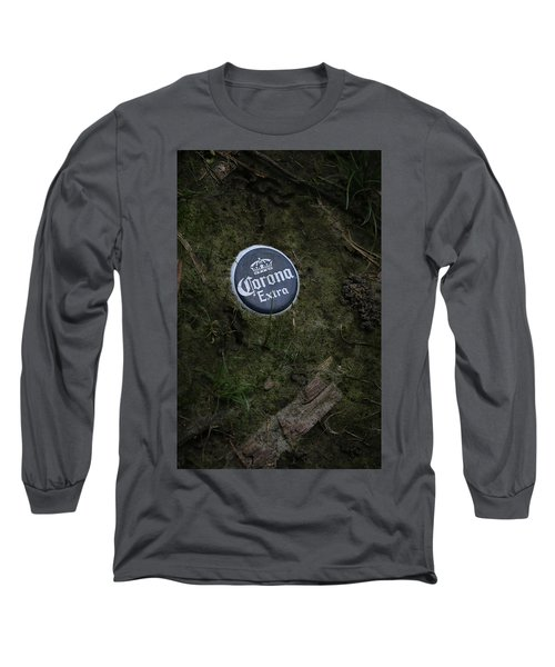 Long Sleeve T-Shirt featuring the photograph Corona Extra by Ray Congrove