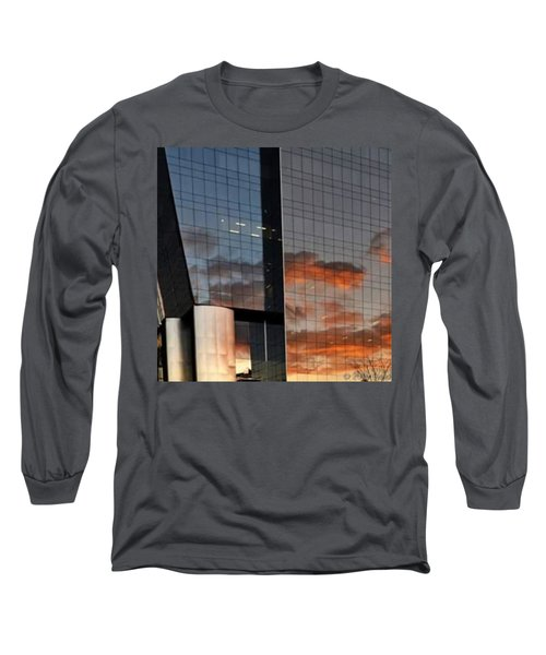 #corporative #architecture At Dusk Long Sleeve T-Shirt