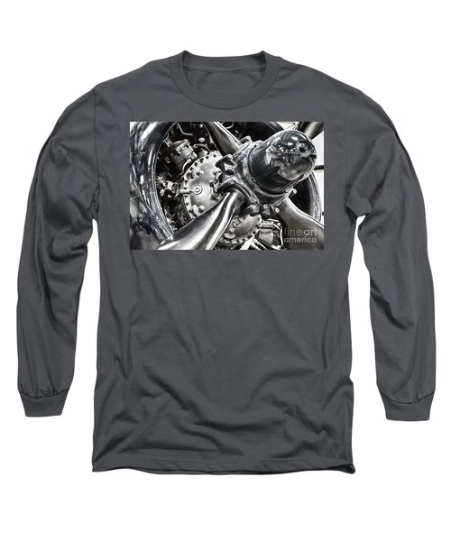 Corsair F4u Engine Long Sleeve T-Shirt