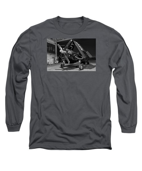 Corsair In The Hangar Long Sleeve T-Shirt