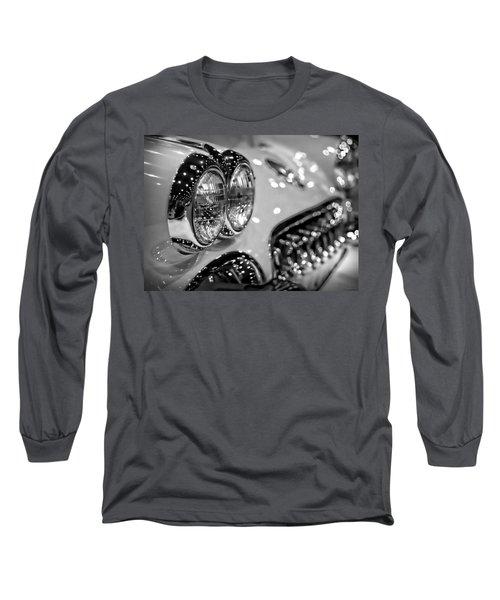 Corvette Bokeh Long Sleeve T-Shirt by Gordon Dean II