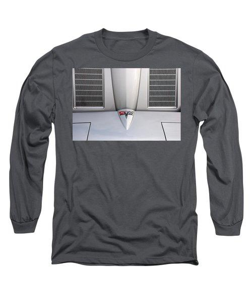 Corvette Hood Long Sleeve T-Shirt