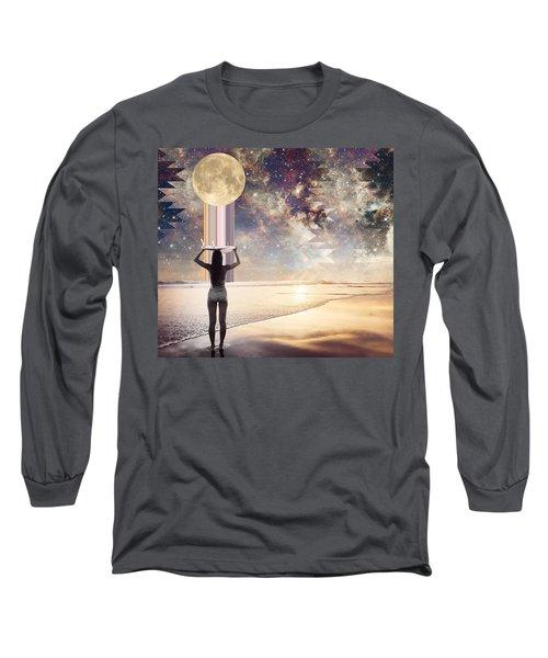 Cosmic Surf Check Long Sleeve T-Shirt
