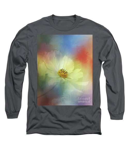 Cosmos Dreaming Abstract By Kaye Menner Long Sleeve T-Shirt