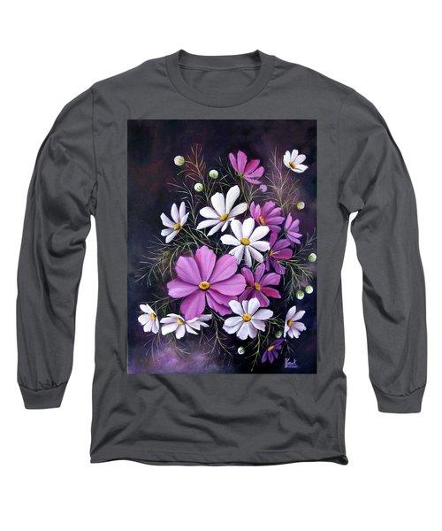 Cosmos Long Sleeve T-Shirt by Katia Aho