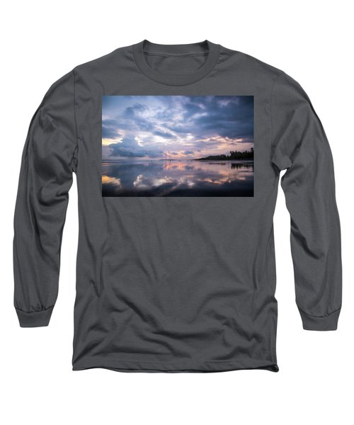 Long Sleeve T-Shirt featuring the photograph Costa Rican Sunset by David Morefield