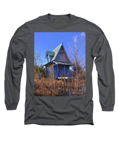 Cottage In The Willows Long Sleeve T-Shirt