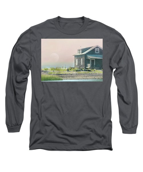 Cottage On The Sound Long Sleeve T-Shirt