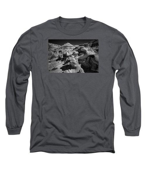 Cottonwood Creek Strange Rocks 6 Bw Long Sleeve T-Shirt