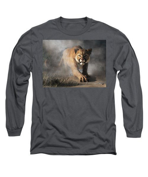 Cougar Is Gonna Get You Long Sleeve T-Shirt