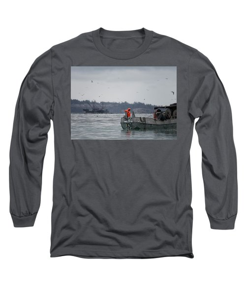 Country Club Long Sleeve T-Shirt by Randy Hall