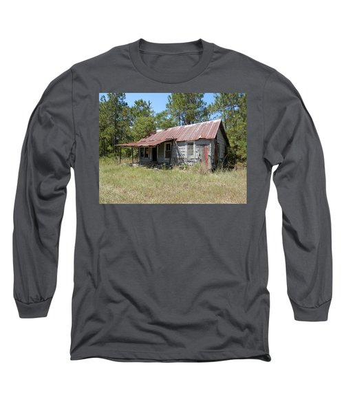 Country Living Gone To The Dawgs Long Sleeve T-Shirt by Belinda Lee