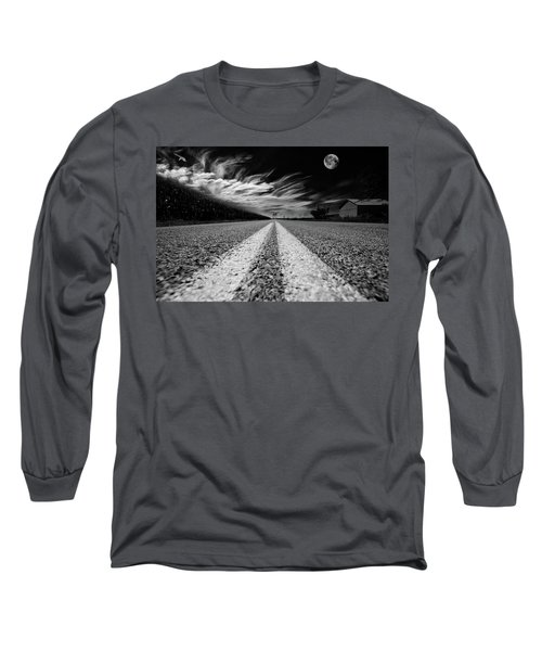 Country Road 51 Long Sleeve T-Shirt by Kevin Cable