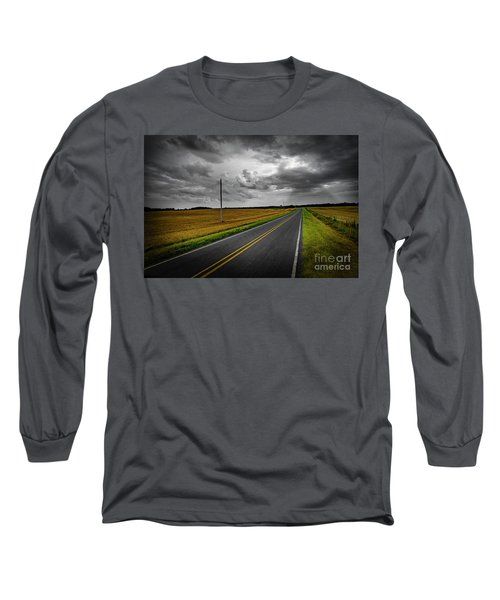 Country Road Long Sleeve T-Shirt by Brian Jones