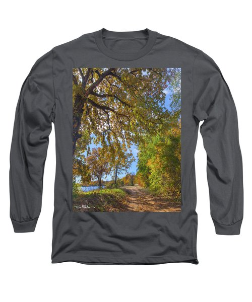 Country Road Long Sleeve T-Shirt by Tim Fitzharris
