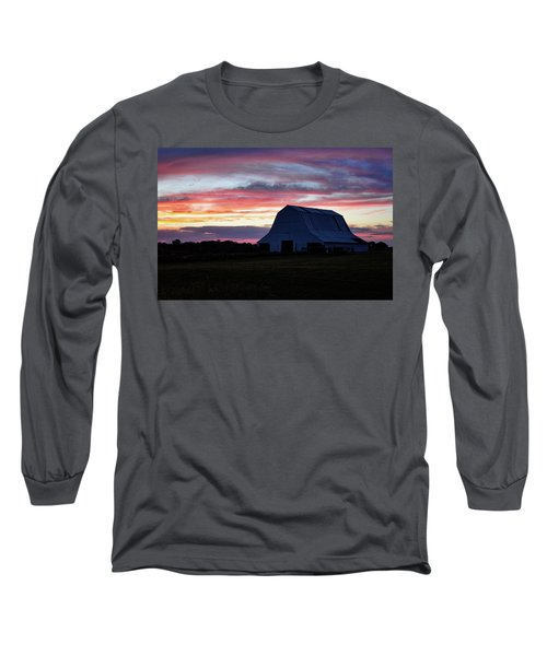 Long Sleeve T-Shirt featuring the photograph Country Sunset by Cricket Hackmann