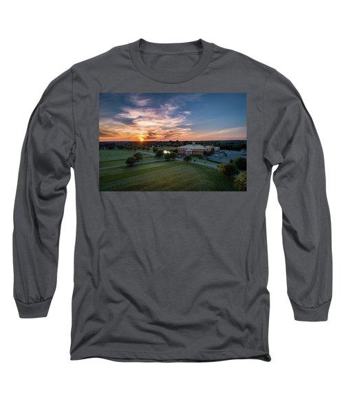 Courthouse Sunset Long Sleeve T-Shirt