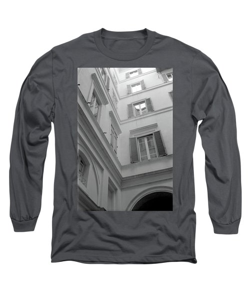 Courtyard In Rome Long Sleeve T-Shirt