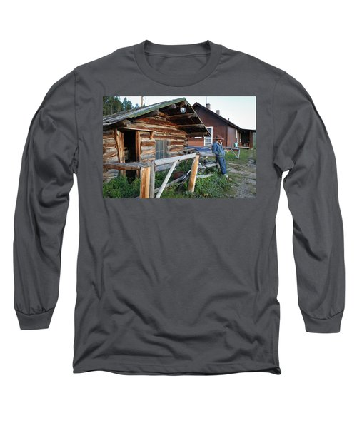 Cowboy Cabin Long Sleeve T-Shirt