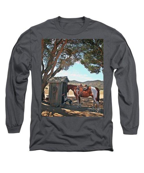 Cowboy Gotta Go Long Sleeve T-Shirt