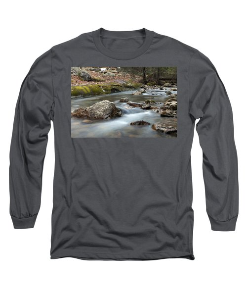Long Sleeve T-Shirt featuring the photograph Coxing Kill In February #2 by Jeff Severson
