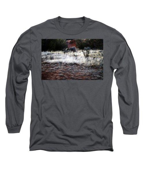Coyote Long Sleeve T-Shirt by Joseph Frank Baraba