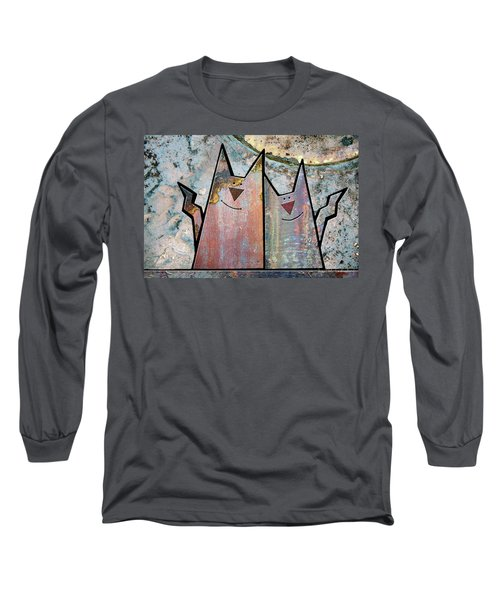 Cozy Long Sleeve T-Shirt by Joan Ladendorf