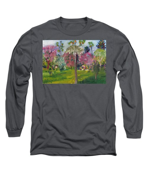 Crab Apple Blossom Time Long Sleeve T-Shirt