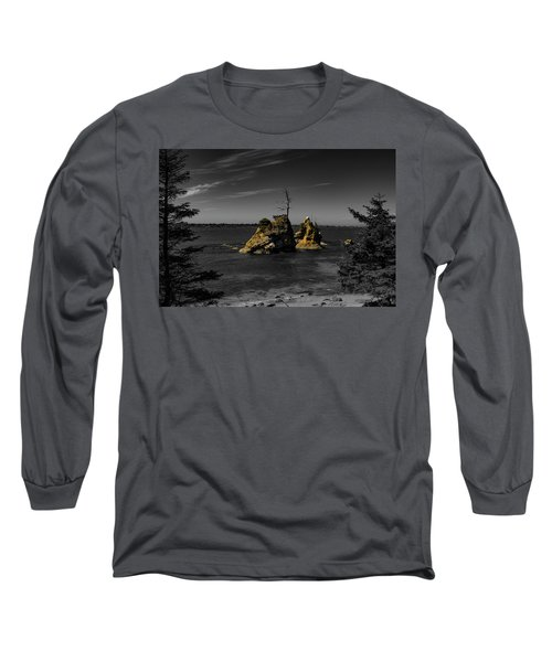 Crab Rock Long Sleeve T-Shirt