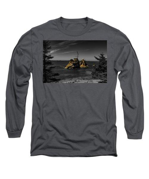 Crab Rock Long Sleeve T-Shirt