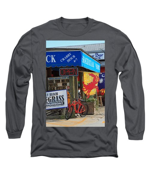 Crabby Hour 4-7 Long Sleeve T-Shirt by Suzanne Gaff